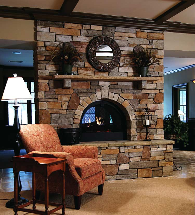 fireplace design ideas atlanta home improvement On 2 way fireplace