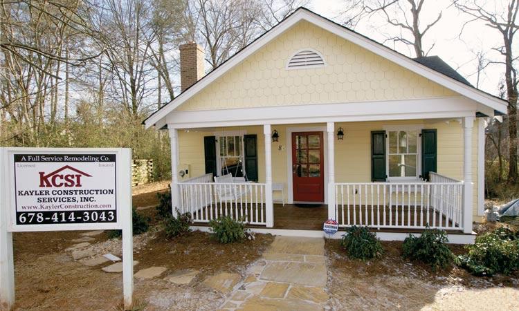 Home renovations before after articles atlanta home improvement - Exterior home repairs ...