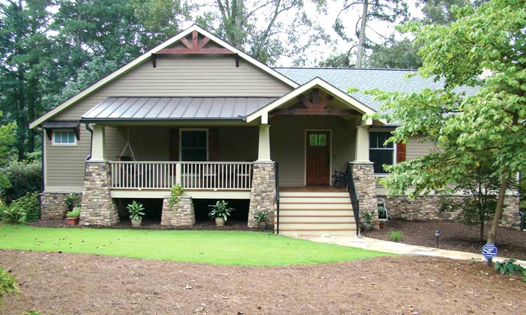 Home renovations before after articles atlanta home for Home exterior makeover ideas