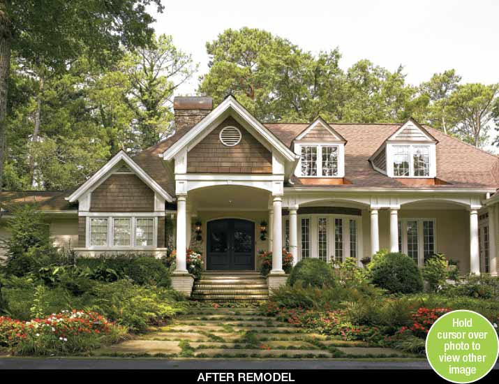 Home Interior Remodeling Exterior Remodel Your Ranch Home Atlanta Home Improvement Smart Placement .