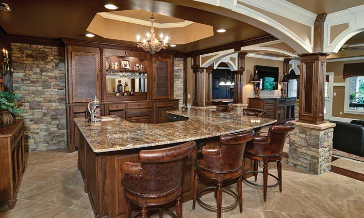 Home renovations before after articles atlanta home for Home bar renovation