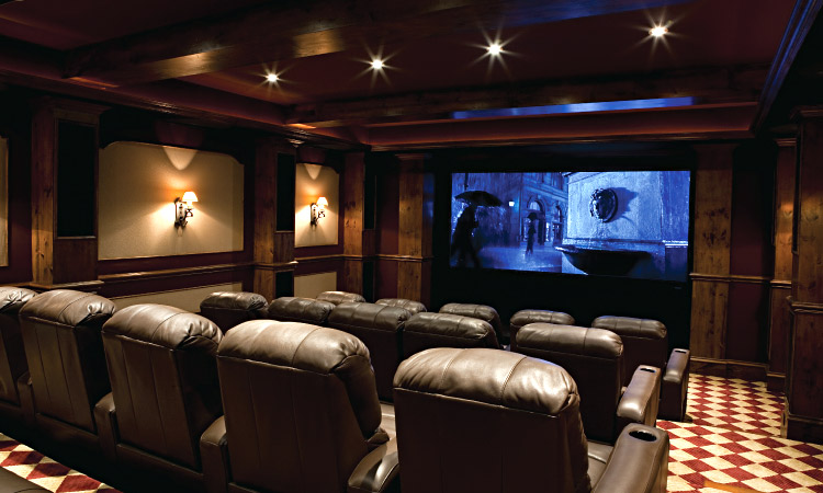 Media Rooms And Home Theaters Atlanta Home Improvement