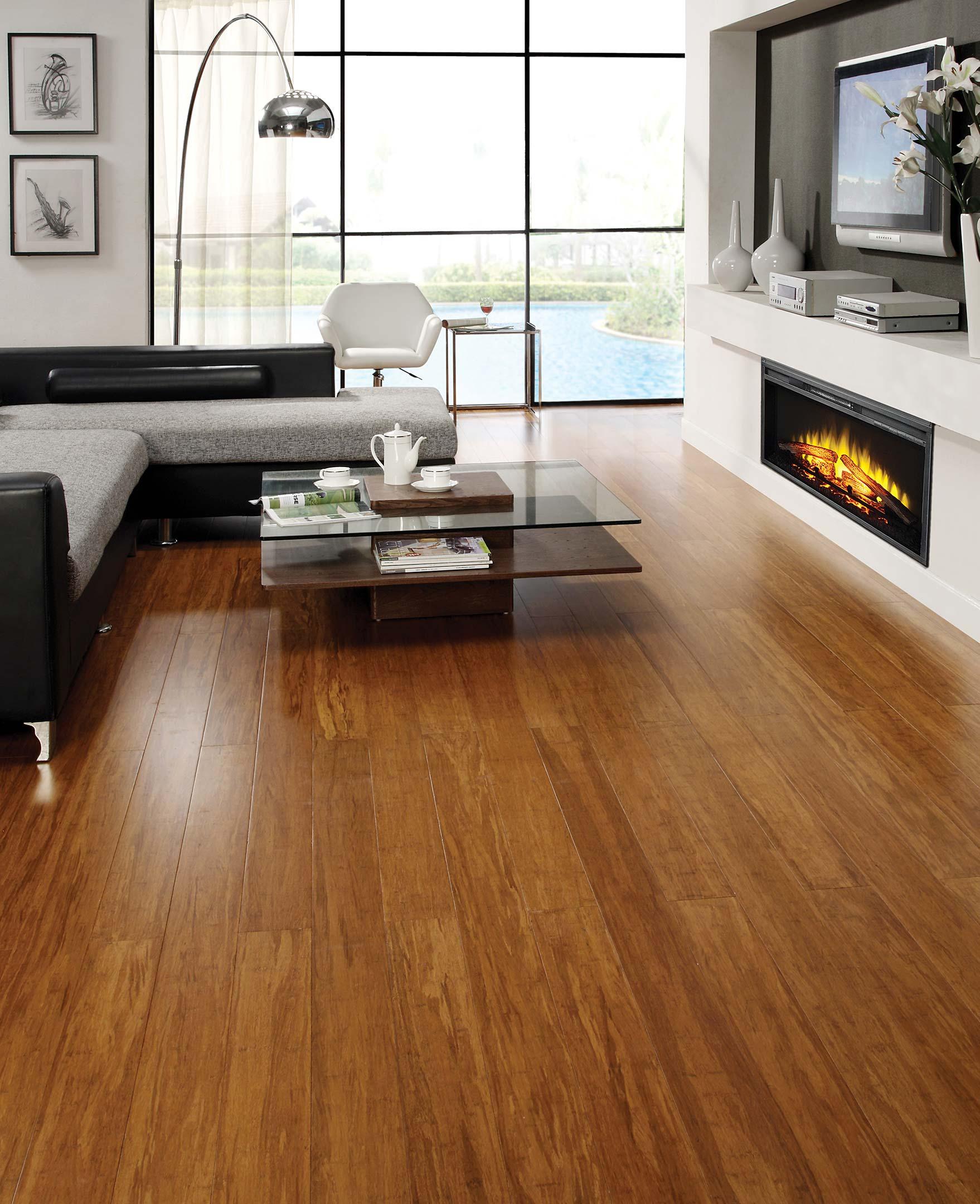 Floor Strand Woven Bamboo