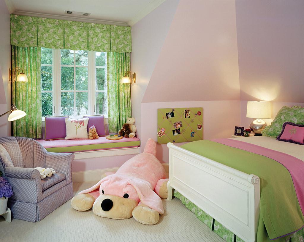 Kids bedroom designs atlanta home improvement for Bedroom designs with window seat