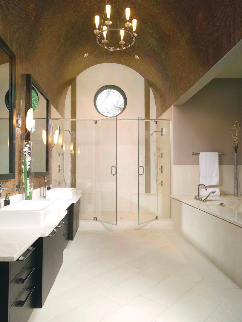 Masterbath Shower Tub Vanity