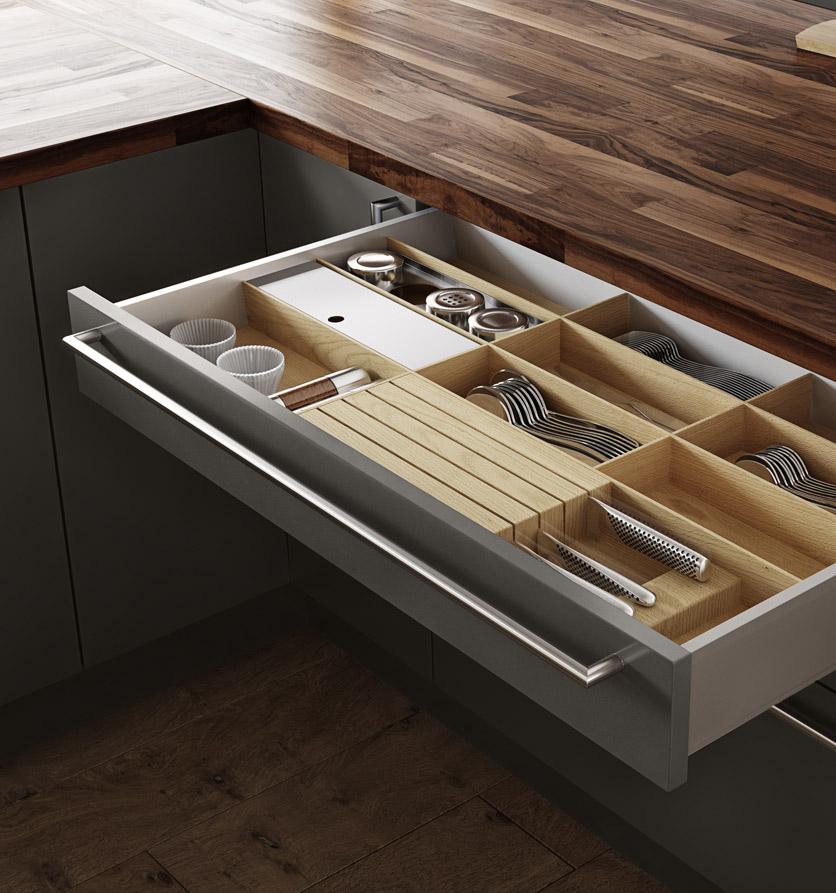 Atlanta modern design homes atlanta home improvement for Modern kitchen drawers
