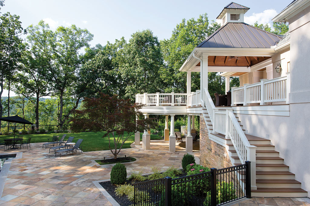 Trends in patios porches and decks atlanta home improvement for Outdoor porches and patios