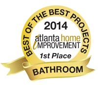 2014 Best of the Best Project - 1st Place - Bathroom Category