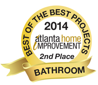 2014 Best of the Best Projects - 2nd Place - Bathroom Category