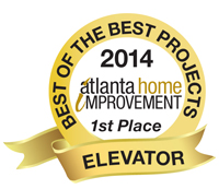 Best of the Best Projects 1st Place Elevator