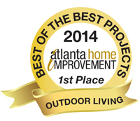 Best of the Best Projects 1st Place Outdoor Living Category