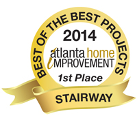 2014 Best of the Best Projects 1st Place Stairway/Entryway Category