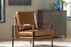 Industrial-Peacemaker Accent Chair