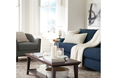 Transitional - METROPOLITAN RECTANGULAR COFFEE TABLE