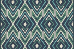 Modern Farmhouse - MERIDIAN 2209B RUG BLUE