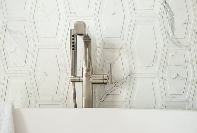 Walker Zanger tile in bathroom