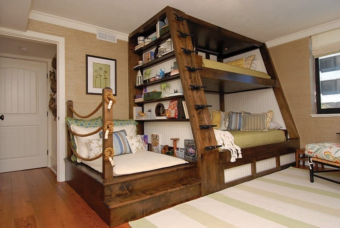 Beautiful and functional bedroom design for kids