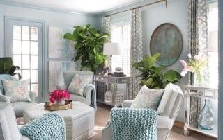 Brian Patrick Flynn interior design family room