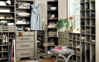Closet organization and design