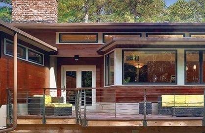 Ranch remodel exterior