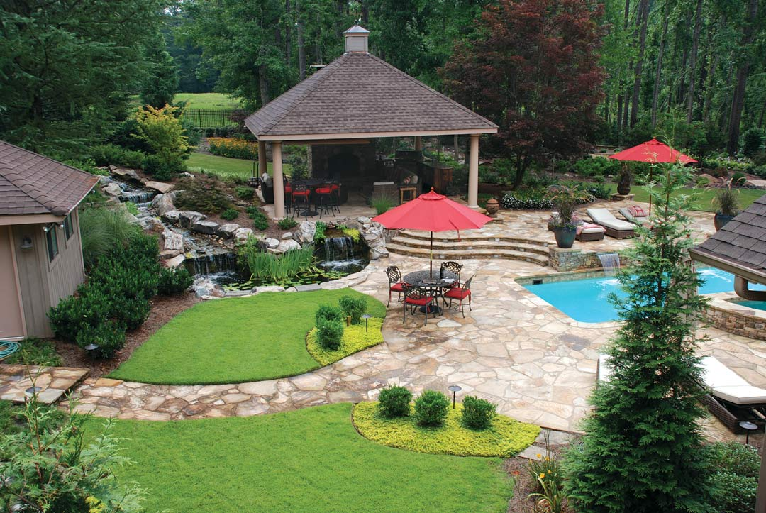 Backyard Resort Woodstock Ga Atlanta Home Improvement