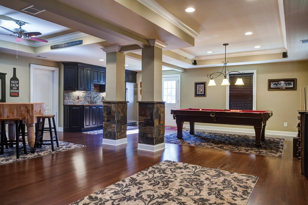 Open Floor Plans With Basement: Basement Designs And Trends