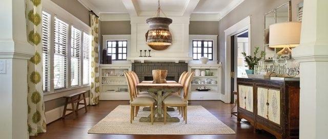 Stylish living room interior design