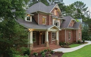 Laminate (Asphalt Shingles)  roofing on brick home