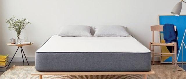 Bedroom design with casper foam mattress