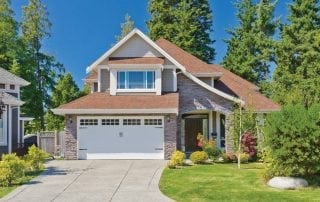 Stylish home exterior with great curb appeal