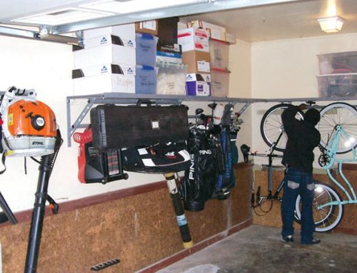 Monkey Bars Garage Storage Systems – Before and After Garage Storage Solution