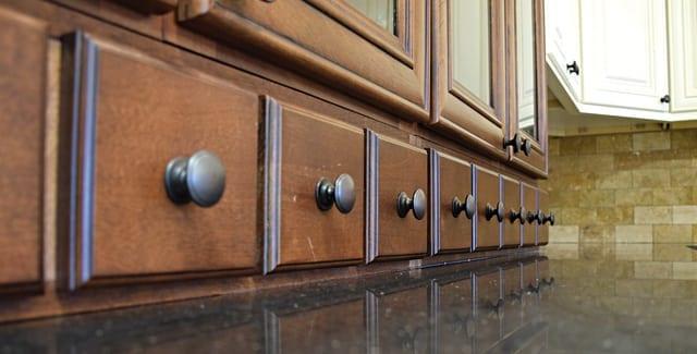 Kitchen organization, drawers