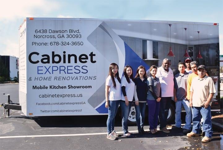 Kitchen and Bath Store Showroom Goes Mobile - Atlanta Home Improvement