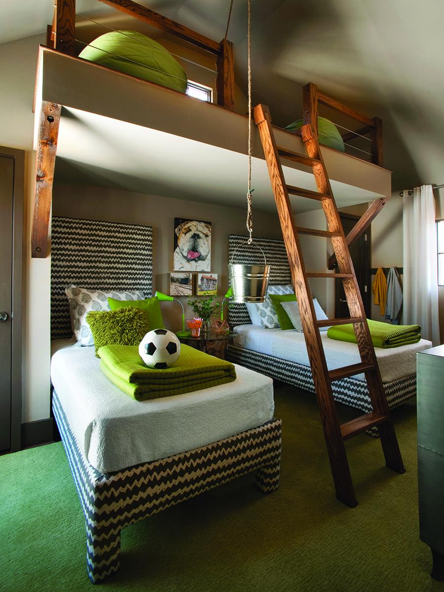 Kids bedroom design at Serenbe