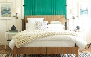 Henley Wool Throw Bedroom Carson