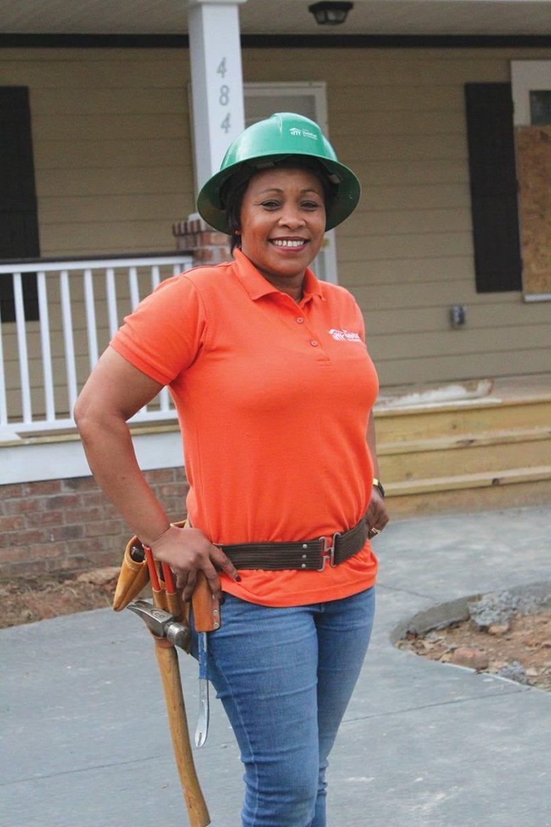 Irene Kagika, Construction Manager at Atlanta Habitat for Humanity