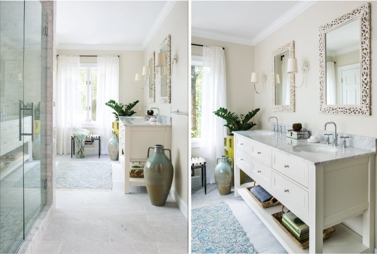 Bathroom retreat by Beth Kooby Design, photography by Jeff Herr Photograph