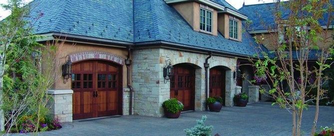 Cedar Garage Doors - Image Doors