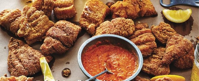 Fried Catfish with Hot Sauce Recipe by Todd Richards