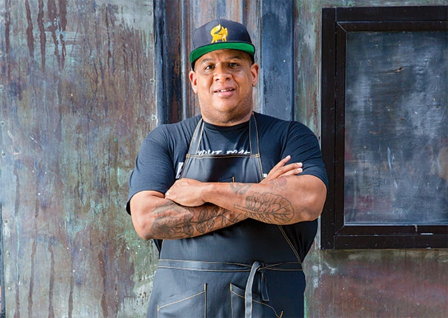 Chef Todd Richards shares his mom's Fried Catfish with Hot Sauce recipe