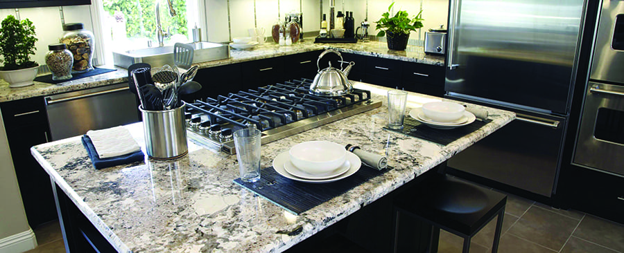 Kitchen remodel with granite countertop - Enhance Floors & More