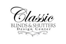 Classic Blinds and Shutters Design Center logo