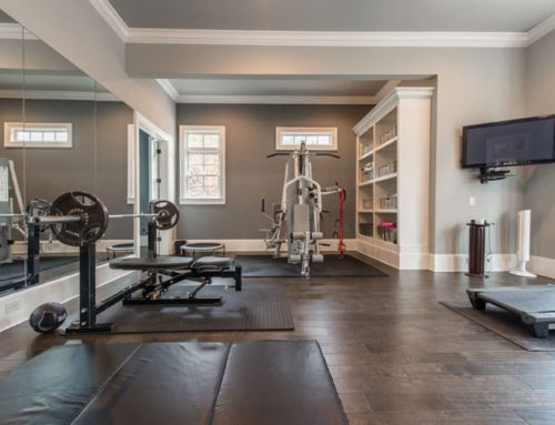 A Milton Family Transforms Their Unfinished Basement Into A Family-friendly Fitness Hub