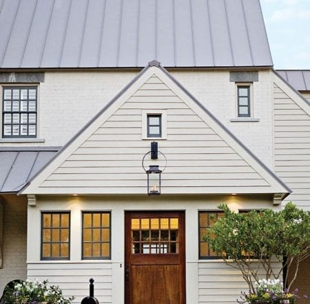 Craftsman-Style Mahogany door with 15 individual panes of glass   t-Olive Properties