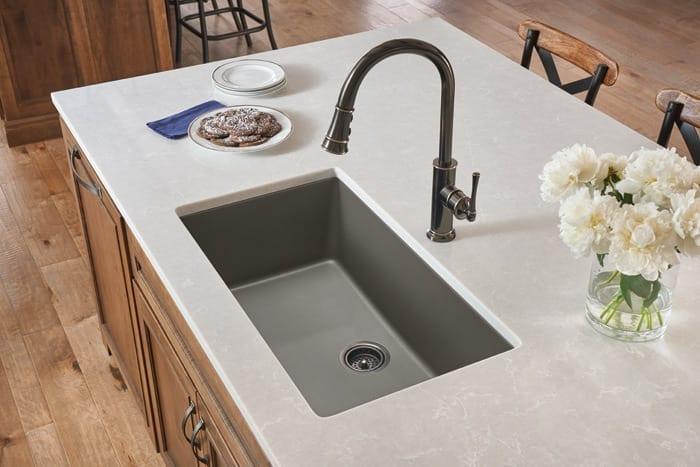 Elkay Quartz Luxe Single Bowl Undermount Sink
