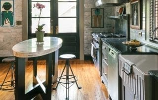 Mark Edge Historic home kitchen restoration. Photography by WILLETT