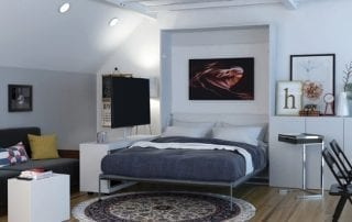 Xtraroom Virgo Wall Bed Collection by Chip Wade