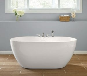 Free Standing Mirabelle Hibiscus Soaking Tub