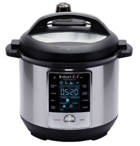 Black and Silver Instant Pot Max Instant Brands Inc