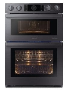 Black Samsung Chef Collection inch Microwave Combination Oven